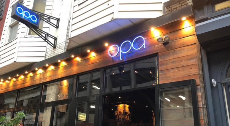Opa is back in business after the flood in Center City forced it to shut down