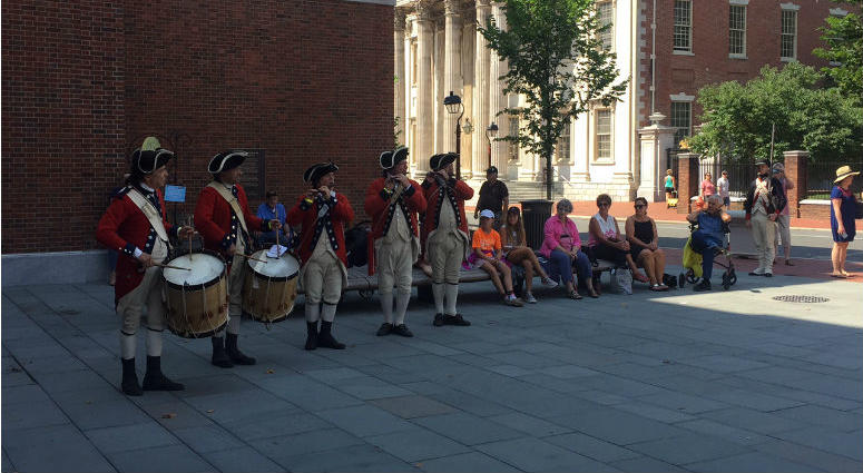 Museum of the American Revolution Drum Party