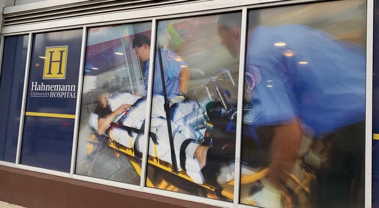 Hahnemann Hospital no longer accepting trauma patients amid