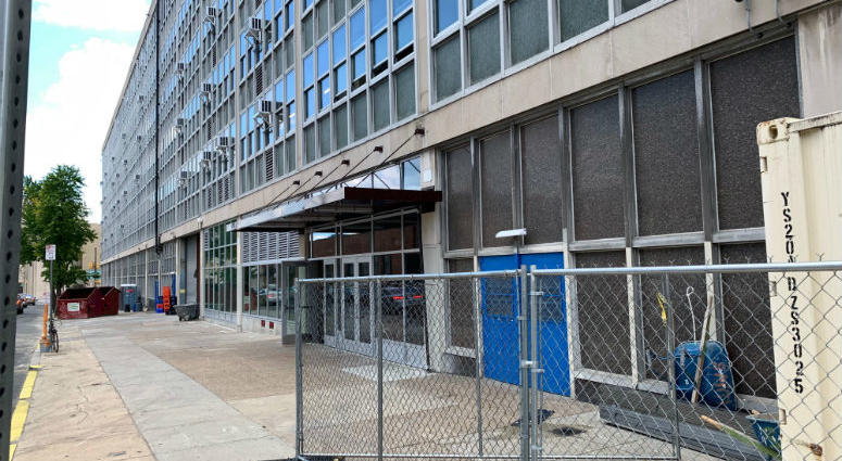 Workers have been building a new home for SLA inside the Ben Franklin High building.