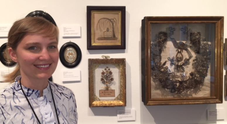 Emily Snedden Yates, the Mutter Museum's special projects manager