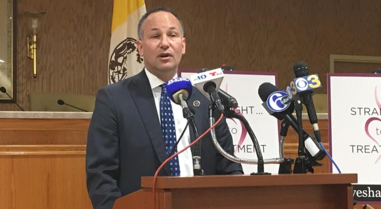 Burlington County Prosecutor Scott Coffina