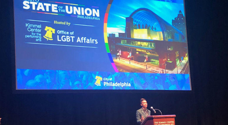 Amber Hikes, executive director of Philadelphia's LGBTQ affairs.