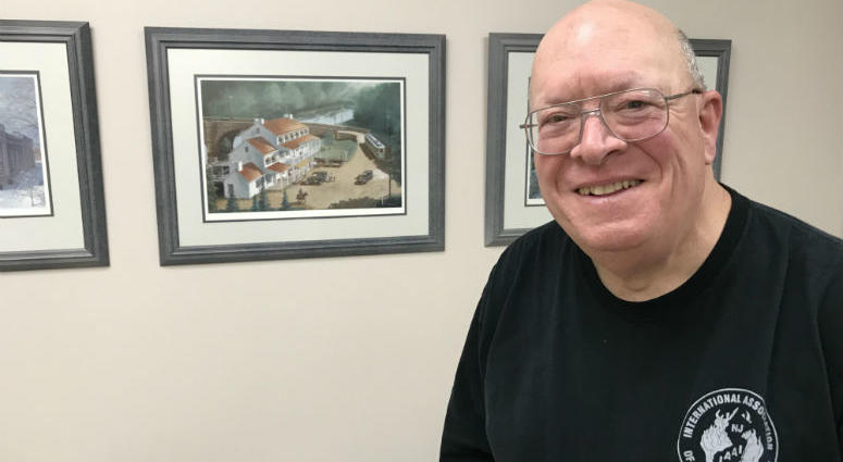 Sgt. Bruce Penuel started with the Collegeville-Trappe police just over 40 years ago.