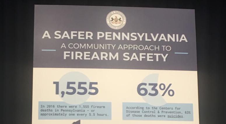 Pennsylvania's auditor general has released a report on what he believes can be done to curb gun violence within the limits of existing state law.