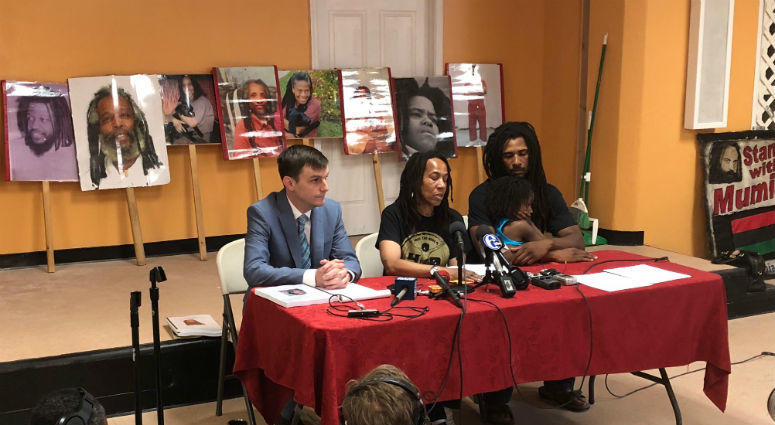 Debbie Sims Africa, the first member of the MOVE 9, is now free. She made her first public appearance Tuesday.