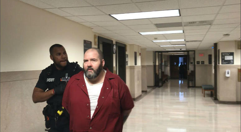 A 49-year-old Delaware County man is sentenced to 9 to 18 years in prison for illegally selling firearms outside a gun show in Montgomery County in February of last year, then pointing a loaded gun at police officers trying to arrest him.