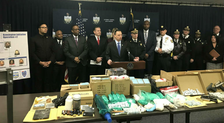 A major drug bust in the Kensington section of Philadelphia shuts down an operation that authorities say had a stronghold on the neighborhood for years and consistently put heroin and fentanyl back into the streets.