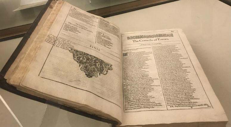 Markings in the margin of a rare Shakespeare book at the Free Library of Philadelphia is now believed to be done by a famous 17th century poet.