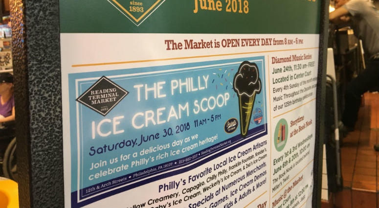 Philly Ice Cream Scoop