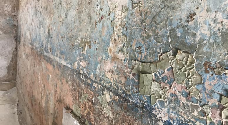 When the walls of Al Capone's cell were being prepared to be plastered in the beginning of the year, 20 layers of paint were uncovered, revealing another fold in the gangster's history.