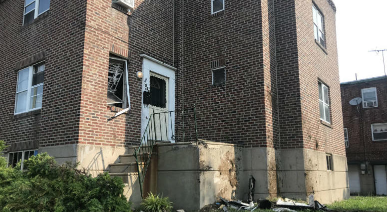 A crash on Roosevelt Boulevard Saturday night sends a car through a home before claiming the lives of two teenagers.