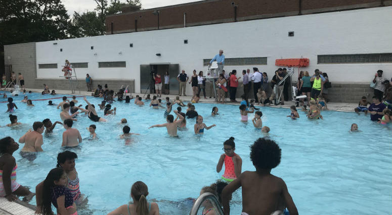 If you live in Philly you have more than 70 swimming pool options to help you cool down.