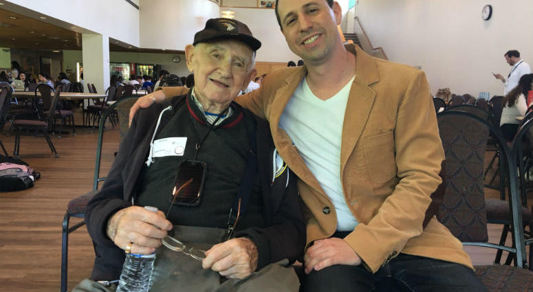 On Holocaust Remembrance Day Thursday, the students of Jack Barrack Hebrew Academy hosted a special guest who told his story of survival.