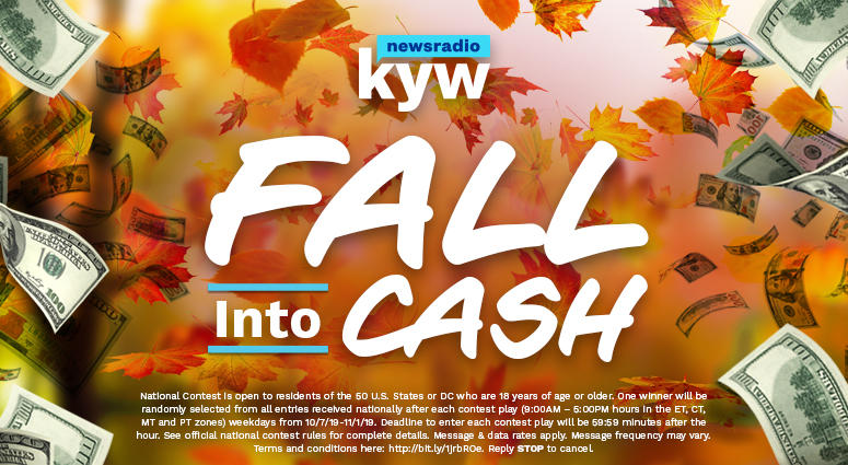 KYW's Fall Into Cash w Footer