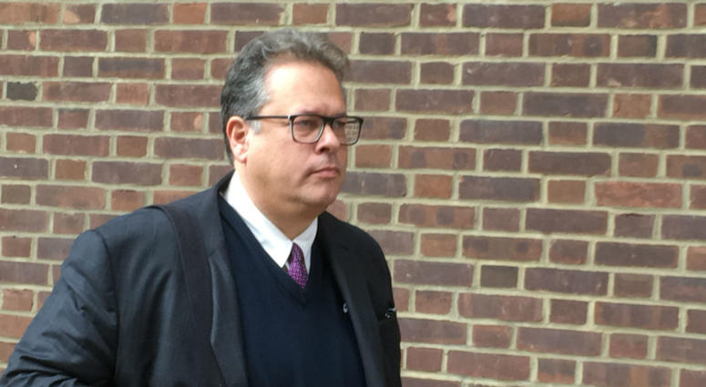 Ken Smukler outside the federal courthouse in Philadelphia
