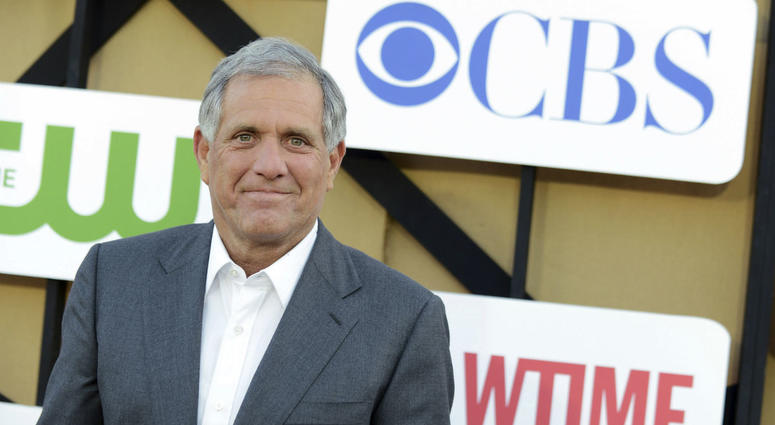 In this July 29, 2013, file photo, Les Moonves arrives at the CBS, CW and Showtime TCA party at The Beverly Hilton in Beverly Hills, Calif.