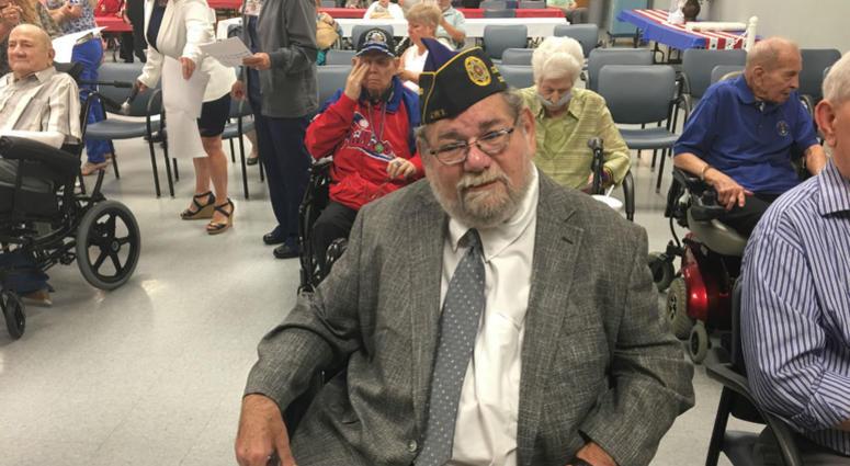 Marshall Baker is a veteran of the Vietnam War.