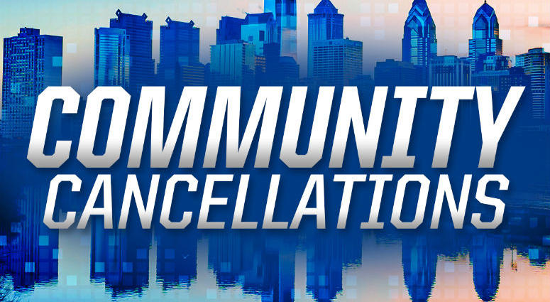 Community cancellations.