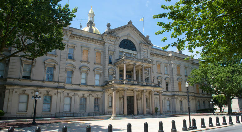 New Jersey State House, Trenton, New Jersey,