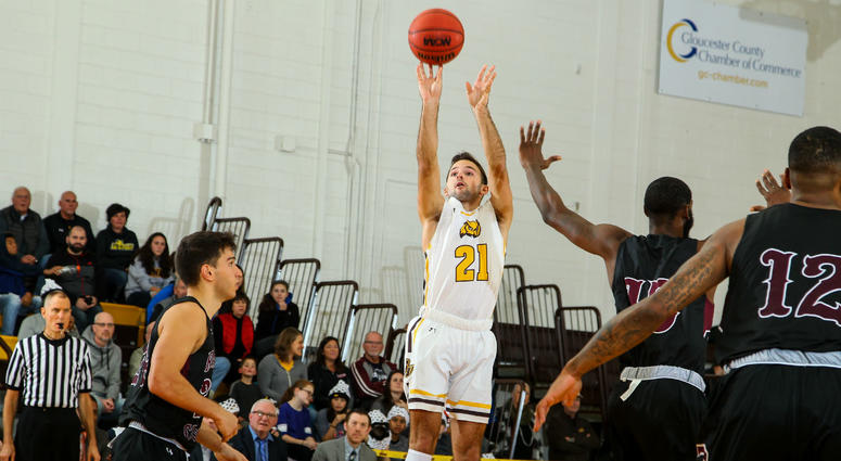 Senior Nick DePersia leads Rowan in scoring this season, averaging 15.2 ppg