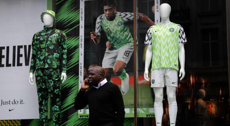 de08b133257 Nigeria's bright, trippy uniforms a hit among World Cup unis | KYW