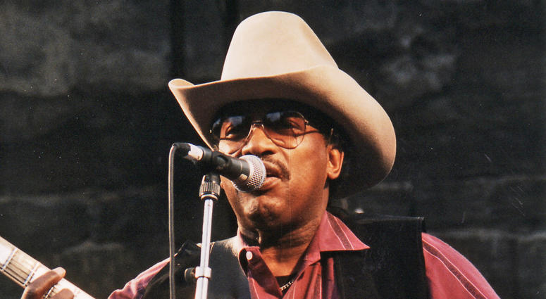 Otis Rush performing at Notodden bluesfestival, Norway, in 1997.