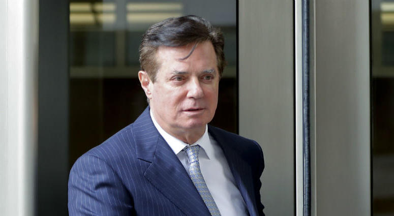 In this Feb. 14, 2018 file photo, Paul Manafort, President Donald Trump's former campaign chairman, leaves the federal courthouse in Washington.