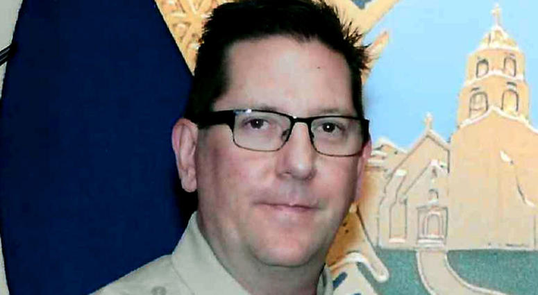 This undated photo provided by the Ventura County Sheriff's Department shows Sheriff's Sgt. Ron Helus, who was killed Wednesday, Nov. 7, 2018.