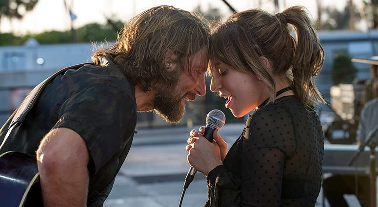"""Bradley Cooper, left, and Lady Gaga in a scene from the latest reboot of the film """"A Star is Born."""""""