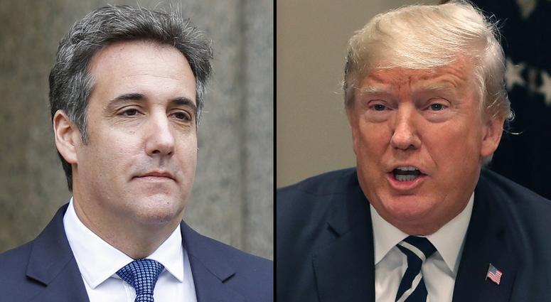 Michael Cohen, Donald Trump
