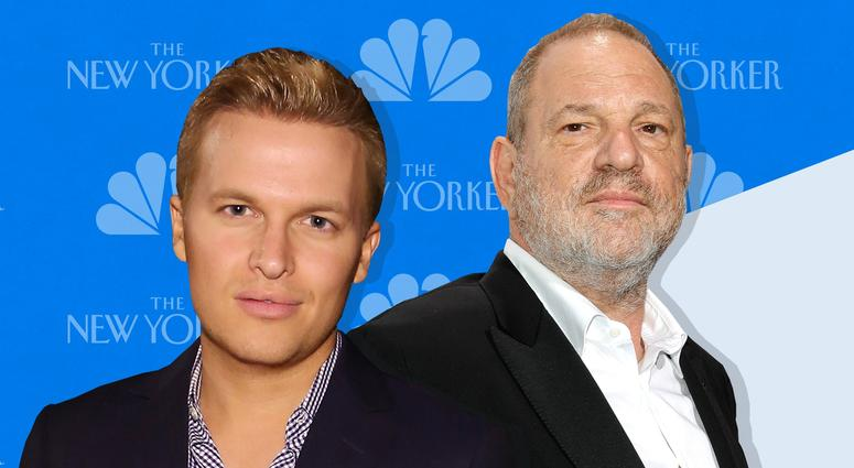 Ronan Farrow and Harvey Weinstein