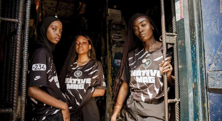 5d7b7473718 The 23-year-old Nigerian who designed a special edition jersey with ...