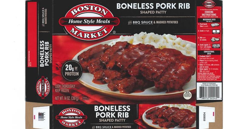 Boston Market's Boneless Pork Rib