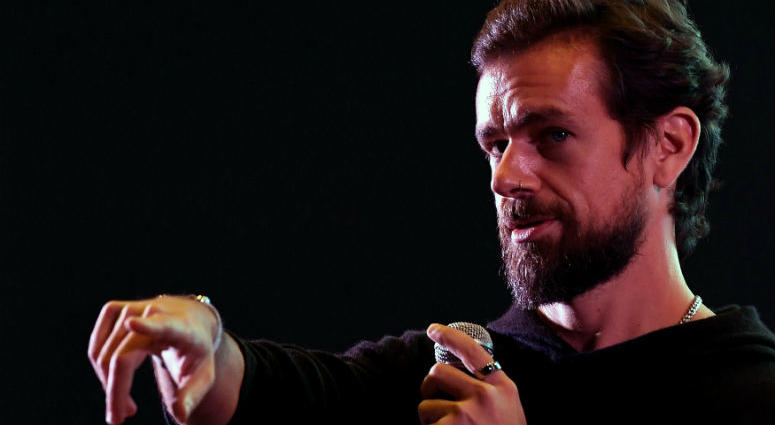 """President Donald Trump met with Twitter chief executive Jack Dorsey on Tuesday, hours after Trump erroneously accused the social media company of """"discriminatory"""" behavior toward conservative users."""