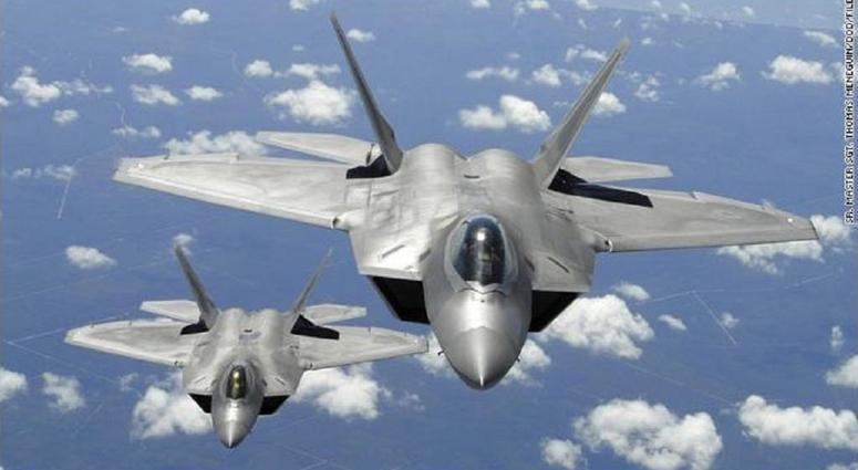 US F-22 stealth jets intercepted four Russian bombers and two Russian Su-35 fighter jets off the coast of Alaska, according to a statement from North American Aerospace Defense Command.
