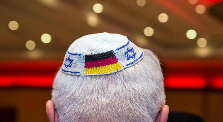 German Jews have been warned by a leading government official not to wear traditional kippahs in all public settings following a rise in anti-Semitic attacks across the country.