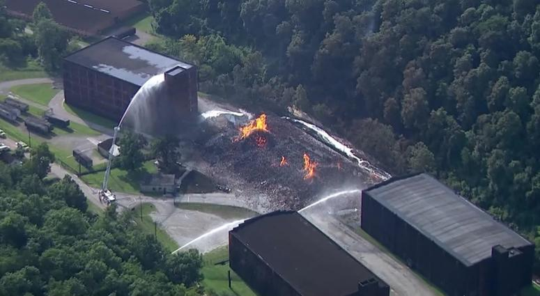 Jim Beam warehouse fire