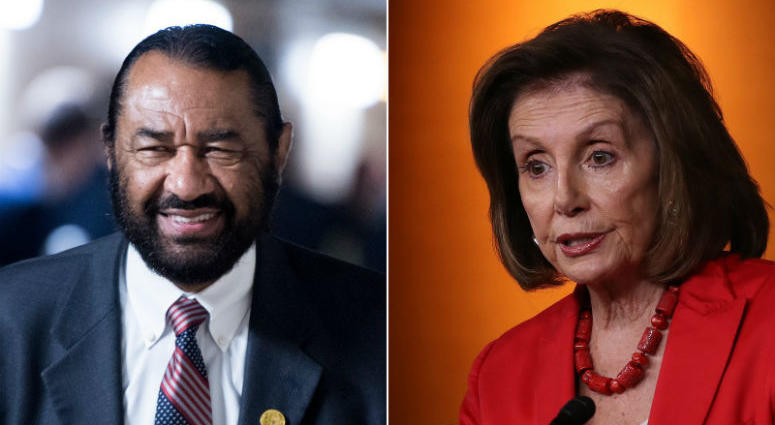 Democratic Rep. Al Green says the House is expected to vote Wednesday on his resolution to impeach President Donald Trump, in what amounts to the most direct challenge yet to House Speaker Nancy Pelosi's handling of the impeachment question.