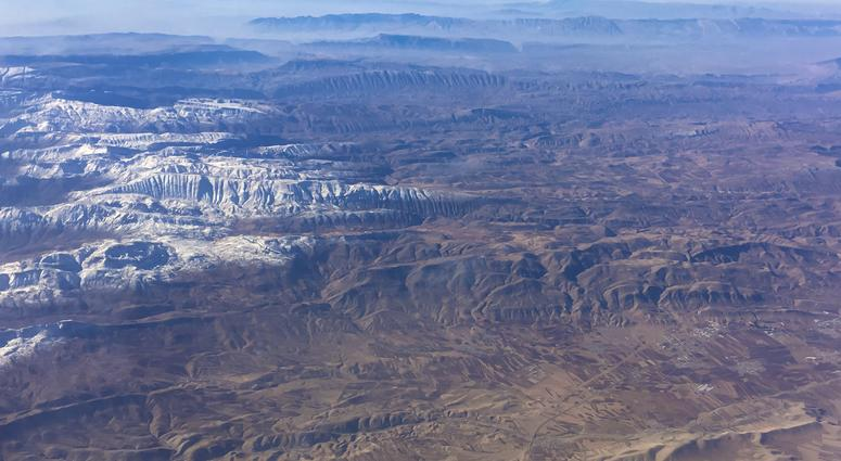 Remnants of the lost continent can be seen in the Taurus Mountains in Turkey.