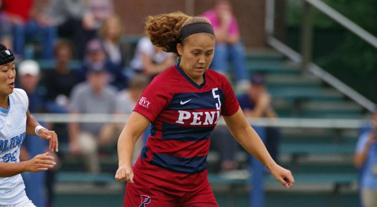 Penn junior forward Emily Sands