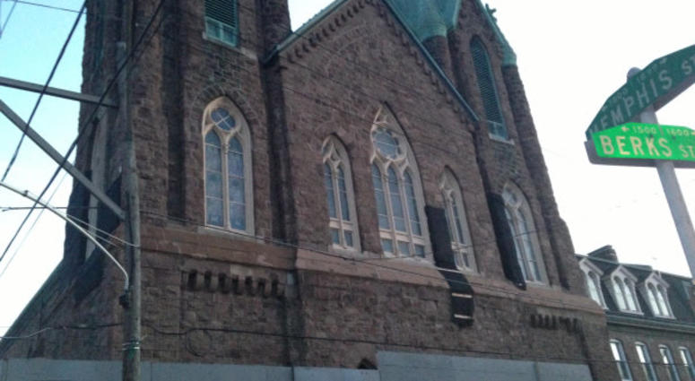 St. Laurentius Parish, built in 1882, was the city's oldest Polish church until the Archdiocese deconsecrated it in 2014 and sold it to developers.
