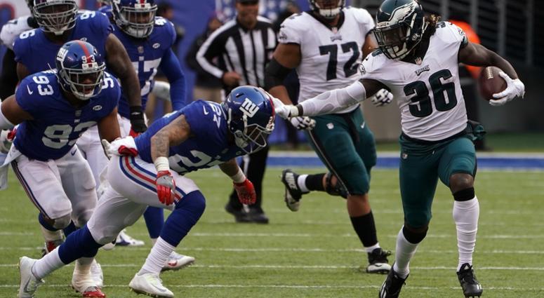 Philadelphia Eagles at New York Giants 2017