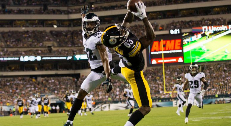 Pittsburgh Steelers at Philadelphia Eagles preseason game