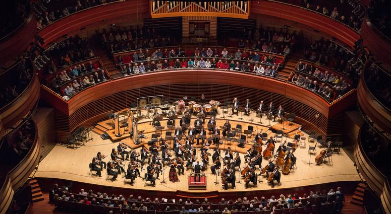 The Philadelphia Orchestra and Conductor Yannick Nezet-Seguin, photographed at the Kimmel Center on Friday, Dec. 3, 2015, in Philadelphia.