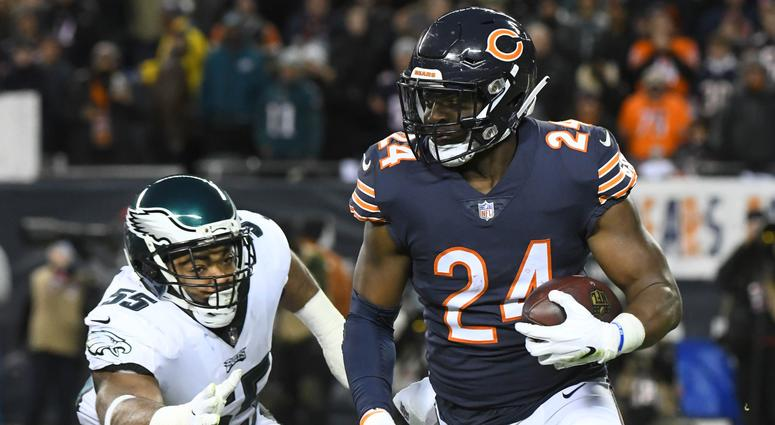 Chicago Bears versus Philadelphia Eagles