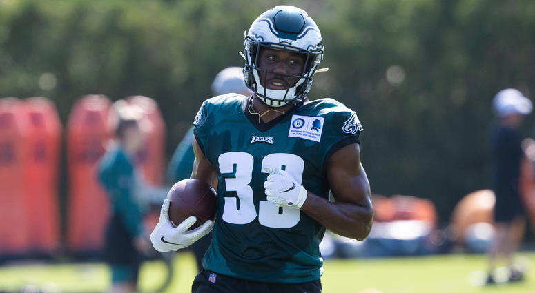 Philadelphia Eagles running back Josh Adams