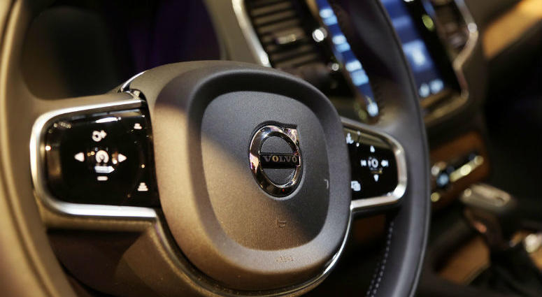 Jan 11, 2015; Detroit, MI, USA; The Volvo XC90 is awarded the North American Truck Utility of the Year during the 2016 North American International Auto Show at Cobo Center in Detroit.
