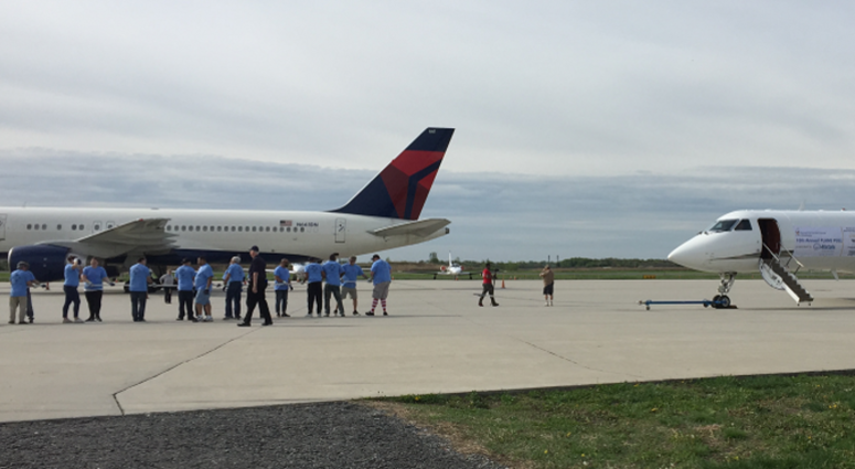 The 10th annual Plane Pull tug-of-war fundraiser totaled more than $165,000 for Ronald McDonald House.