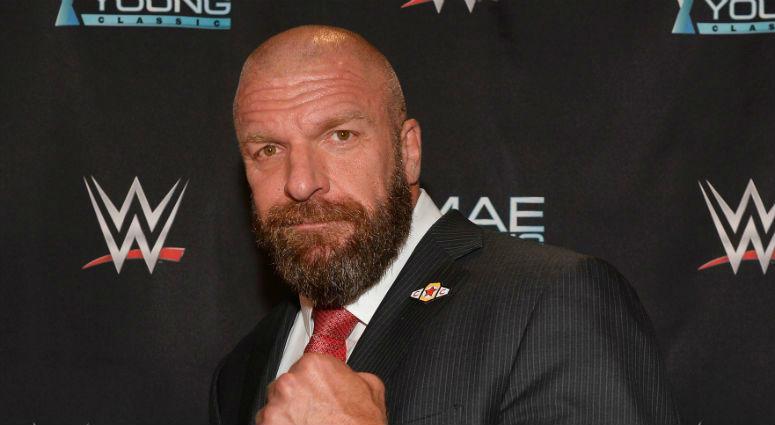 WWE Trilpe H